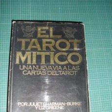 Barajas de cartas: EL TAROT MITICO - JULIET SHARMAN-BURKE Y LIZ GREENE. Lote 105943222