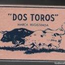Barajas de cartas: BARAJA PANGUINGUE LOS DOS TOROS, JUAN ROURA, 240 CARTAS DE 1940. ENVOLTORIO ROSA PRECINTADO.. Lote 102826947