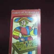 Barajas de cartas: EL TAROT MARSELLES.22 ARCANOS MAYORES VERSION MAJESTUOSA.. Lote 102940087