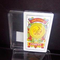 Barajas de cartas: BARAJA DE CARTAS -NAIPE ESPAÑOL-EN CAJA FORCEL NUEVA A ESTRENAR. Lote 106091787