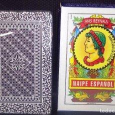Barajas de cartas: BARAJA DE CARTAS -NAIPE ESPAÑOL- MAS REYNALS NUEVA A ESTRENAR-PRECINTADA-. Lote 188688100