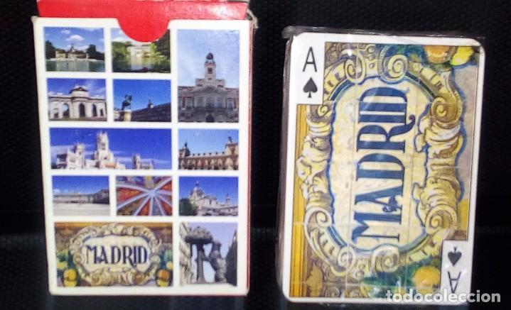 BARAJA DE CARTAS -NAIPES-MADRID- VISTAS DE MADRID NUEVA A ESTRENAR (Juguetes y Juegos - Cartas y Naipes - Otras Barajas)