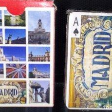 Baralhos de cartas: BARAJA DE CARTAS -NAIPES-MADRID- VISTAS DE MADRID NUEVA A ESTRENAR. Lote 116504524