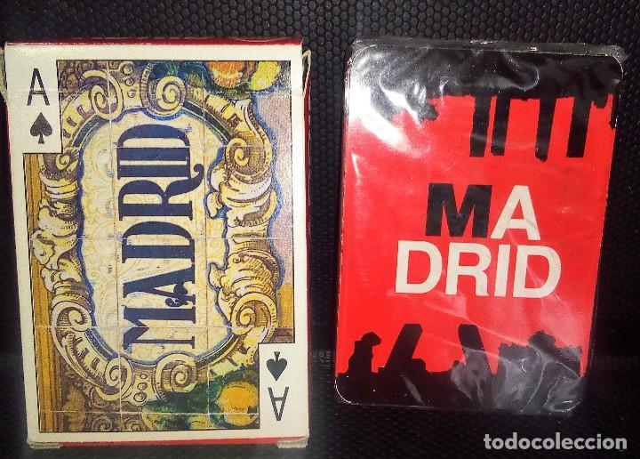 Barajas de cartas: BARAJA DE CARTAS -NAIPES-MADRID- VISTAS DE MADRID NUEVA A ESTRENAR - Foto 2 - 116504524