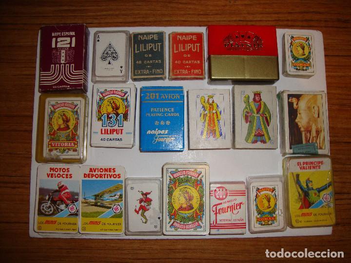 Tc 46 Interesante Lote De 19 Juegos De Cartas Comprar Otras
