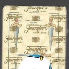 Barajas de cartas: BARAJA Nº 15 DE FOURNIER, TIMBRE SOBRE NAIPES, 50 CARTAS. SIN ESTRENAR.. Lote 103059319