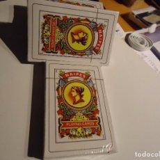 Barajas de cartas: BARAJA DE CARTAS. PLAYING CARDS, 48,CARTAS MÁS DOS MONOS.NUEVAS ENCELOFANADA.. Lote 103092967