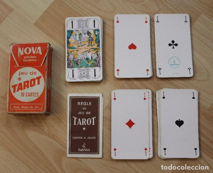 JUEGO CARTAS TAROT HERON (Juguetes y Juegos - Cartas y Naipes - Barajas Tarot)