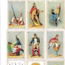 Barajas de cartas: BARAJA ESPAÑOLA EROTICA DE ASESCOIN-AÑO 1996. Lote 103306339