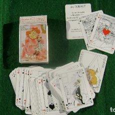 Barajas de cartas: RARA BARAJA FRANCESA DE GRIMAUD JEU DUBOUT DESCATALOGADA CN 3. Lote 103350419