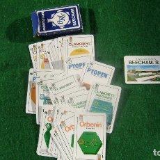 Barajas de cartas: BARAJA BEECHAM DE FORUNIER RARA Y EN BUEN ESTADO CN 3. Lote 103350523