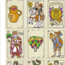 Barajas de cartas: BARAJA ESPAÑOLA EL SITIO DE LOGROÑO-AÑO 2002. Lote 103406239