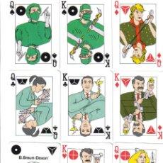Barajas de cartas: BARAJA ESPECIAL B.BRAUN-DEXON-AÑO 1982. Lote 103409543