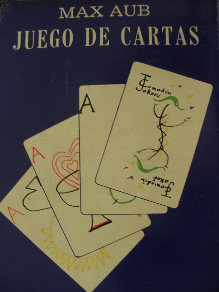 JUEGO DE CARTAS MAX AUB MEXICO 1964 BARAJA NAIPES DIBUJOS JUSEP TORRES CAMPALANS (Juguetes y Juegos - Cartas y Naipes - Otras Barajas)