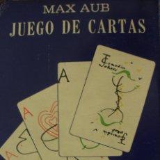 Barajas de cartas: JUEGO DE CARTAS MAX AUB MEXICO 1964 BARAJA NAIPES DIBUJOS JUSEP TORRES CAMPALANS. Lote 53766737