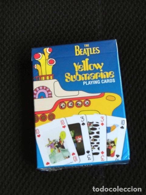 BEATLES JUEGO COMPLETO NUEVO CARTAS NAIPES JUEGOS DE MESA ORIGINAL (Juguetes y Juegos - Cartas y Naipes - Otras Barajas)