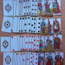Barajas de cartas: REPRODUCCIÓN DE BARAJA BELGA DE LA PRIMERA CRUZADA (HACIA 1875) DEL ORIGINAL DEL MUSEO FOURNIER. Lote 103565063
