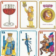 Barajas de cartas: BARAJA ESPAÑOLA BODEGAS BERBERANA-FOURNIER-AÑO 1973. Lote 103614875