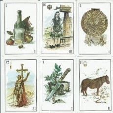 Barajas de cartas: BARAJA ESPAÑOLA ASTURIANA-AÑO 1980. Lote 103631319