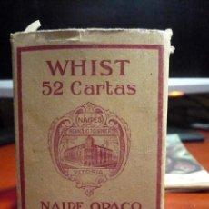 Barajas de cartas: WHIST , CARTAS VIUDA E HIJOS FOURNIER. Lote 103632947