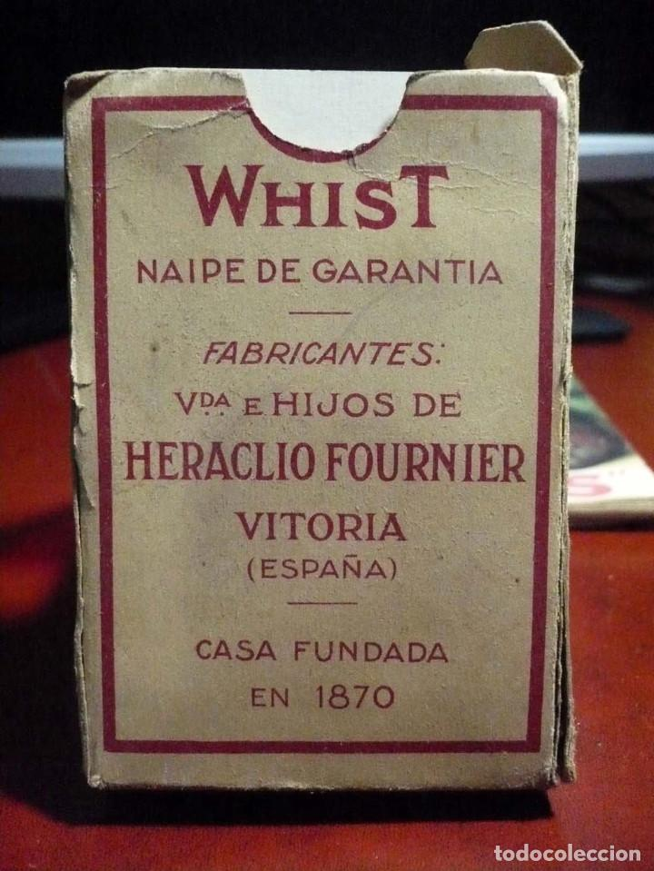 Barajas de cartas: WHIST , CARTAS VIUDA E HIJOS FOURNIER - Foto 2 - 103632947