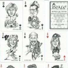 Barajas de cartas: BARAJA ESPECIAL SEGUROS REALE-AÑO 1996. Lote 103637231