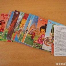 Barajas de cartas: BARAJA INFANTIL FAMILIAS - COMPLETA A ESTRENAR. Lote 103688579