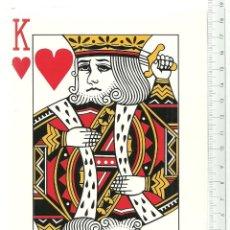 Barajas de cartas: BARAJA GIGANTE DE POKER - 19 X 13 CENTIMETROS - NUEVA CON EL PRECINTO ORIGINAL . Lote 103718383