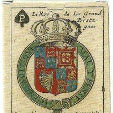 Barajas de cartas: ANTIGUA BARAJA JUEGO ESCUDOS ARMAS MARQUES BRIANVILLE -FRANCIA 1686- NUEVA - CERT. COL. FOURNIER. Lote 156708021