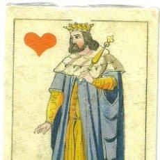 Barajas de cartas: ANTIGUA BARAJA CHIARI ITALIA SIGLO XIX (1850) - NUEVA - CERTIFICADO COLECCION FOURNIER. Lote 103720355