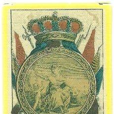 Barajas de cartas - ANTIGUA BARAJA DE MIGUEL OCEJO - ESPAÑA SIGLO XIX (1817) - NUEVA - CERTIFICADO COLECCIÓN FOURNIER - 103720511