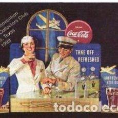 Barajas de cartas: BARAJA DE CARTAS 25 ANNUAL CONVENTION THE COCA COLA COLLECTORS CLUB DALLAS, TEXAS 1999. Lote 103869587