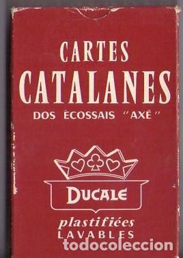 Barajas de cartas: BARAJA DE CARTAS *** CARTES CATALANES DOS ÉCOSSAIS AXE *** DUCALE - Foto 2 - 103871395