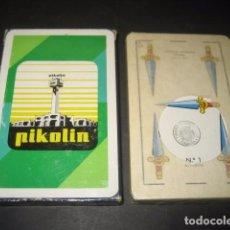 Barajas de cartas: BARAJA ESPAÑOLA FOURNIER. PUBLICIDAD COLCHONES PIKOLIN. Lote 103873271