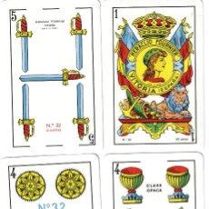 Barajas de cartas: BARAJA ESPAÑOLA Nº 32 DE FOURNIER-AÑOS OCHENTA. Lote 103875915