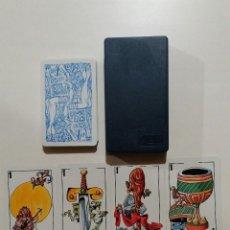 Barajas de cartas: BARAJA DE CARTAS DE MUS FOURNIER PUBLICIDAD PERIODICO ABC ILUSTRACIONES MINGOTE 40 CARTAS NAIPES . Lote 103885227