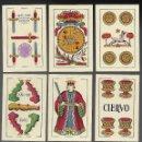 Barajas de cartas: BARAJA EL CIERVO 1951, HIJA DE A. COMAS, T. EXPORTACION. 40 CARTAS, SIN INDICES. SIN ESTRENAR.. Lote 103904631