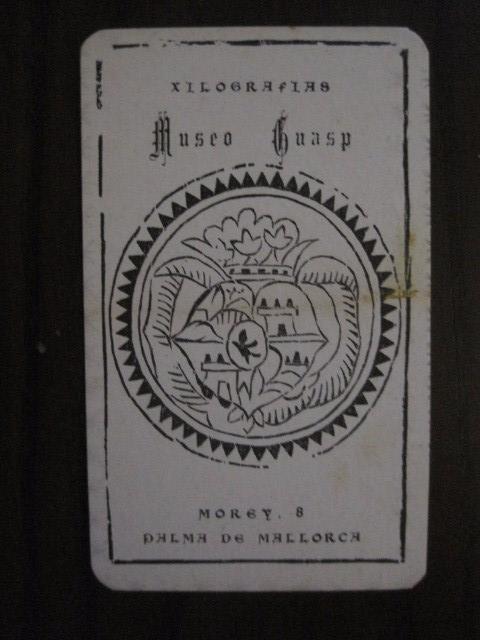 Barajas de cartas: BARAJA CARTAS -XILOGRAFIAS GUASP-PALMA DE MALLORCA - COMPLETA -VER FOTOS -(V-12.694) - Foto 4 - 104055643