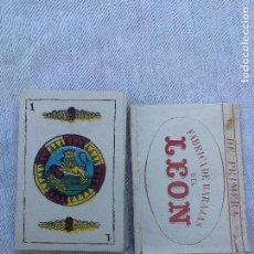 Barajas de cartas: BARAJA CARTAS DEL LEON. Lote 104083055