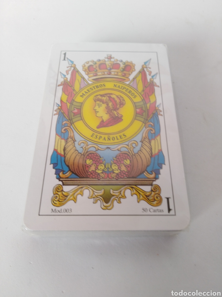 BARAJA ESPAÑOLA NUEVA (Juguetes y Juegos - Cartas y Naipes - Baraja Española)