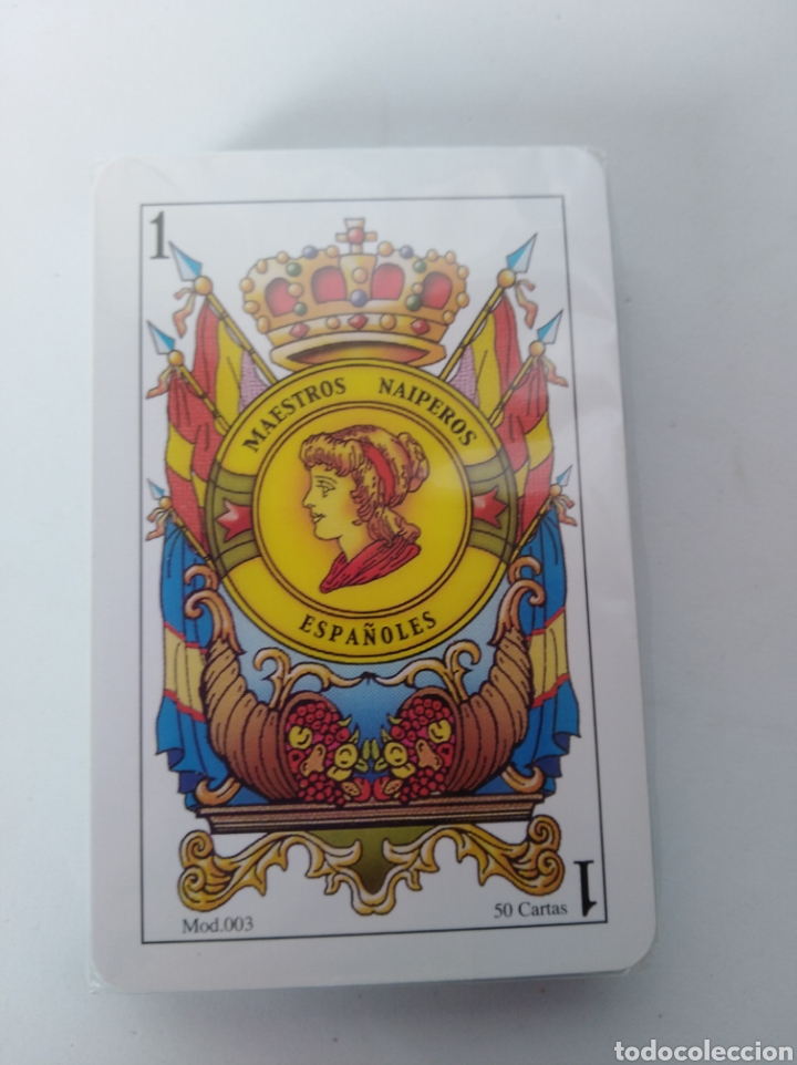 Barajas de cartas: Baraja española nueva - Foto 2 - 104140618