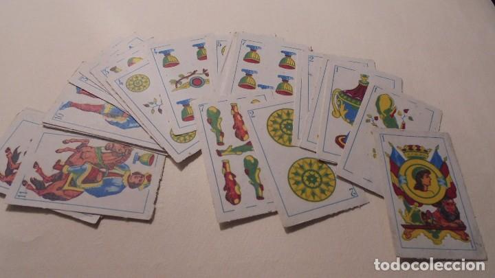 BARAJA MINIATURA ESPAÑOLA 40 CARTAS , - 6X3,8 CM. COMPLETA (Juguetes y Juegos - Cartas y Naipes - Otras Barajas)