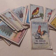 Barajas de cartas: ANTIGUOS CROMOS BARAJA MINIATURA , EL GALLO 1 FABRICA DE NAIPES CLEMENTE JACQUES Y CIA S.A. F.C. DE . Lote 104183947
