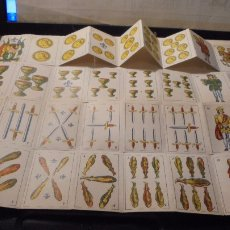 Barajas de cartas: ANTIGUA BARAJA ESPAÑOLA DE MINIATURA - COMPLETA 40 CARTAS - 5,8X4 CM. . Lote 104189267
