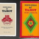 Barajas de cartas: NUEVO JUEGO DEL TAROT REGION ALPINA DE FELIX PEREZ, FOURNIER 1977, 78 CARTAS + LIBRO EXP. PRECINTADO. Lote 104251323
