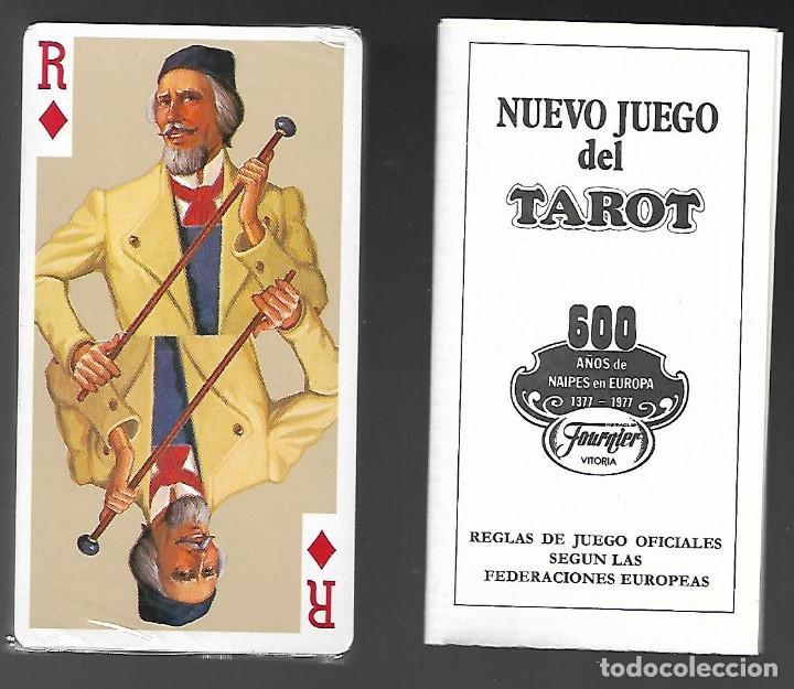 Barajas de cartas: NUEVO JUEGO DEL TAROT REGION ALPINA DE FELIX PEREZ, FOURNIER 1977, 78 CARTAS + LIBRO EXP. PRECINTADO - Foto 2 - 104251323