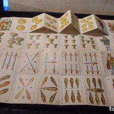Barajas de cartas - BARAJA ESPAÑOLA - MINIATURA - COMPLETA 40 CARTAS - 6X3,8 CM. - 104260179