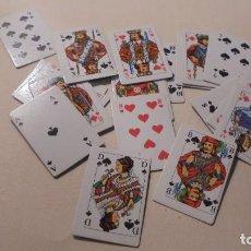 Barajas de cartas: BARAJA DE PÓKER - MINIATURA - 21 CARTAS - 3,5X2,5 CM. . Lote 104260819
