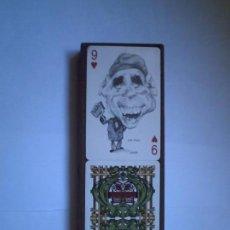 Barajas de cartas: BARAJA CARICATURAS POLÍTICA ORTUÑO,TIMBRE 1973 VITORIA. Lote 62277492