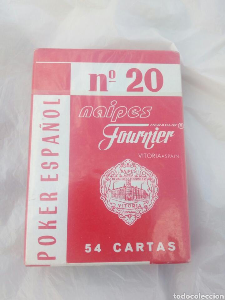 BARAJA PÓKER ESPAÑOLN'20 ,NUEVO SIN ABRIR. (Juguetes y Juegos - Cartas y Naipes - Barajas de Póker)
